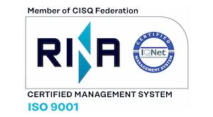 LCE Robotica Azienda Certificata RINA ISO 9001