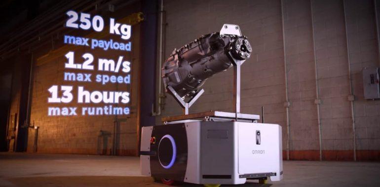 omron ld 250 lce robotica robot mobile