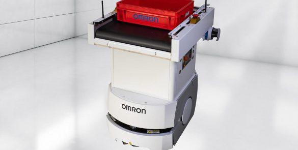 robot mobile soluzione colgate amr omron ld 90